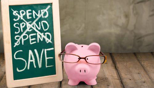 Non spendere ma risparmia