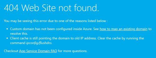 Homepage Envestio 404