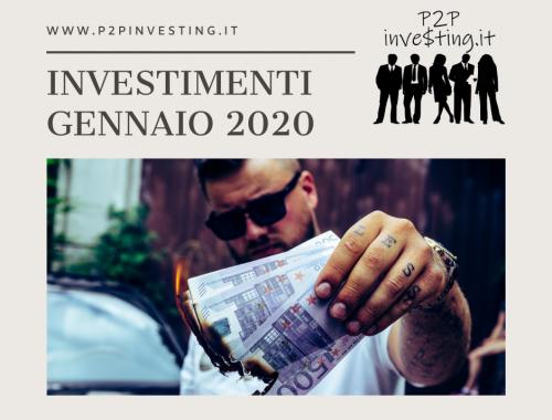 Investimenti Gennaio 2020