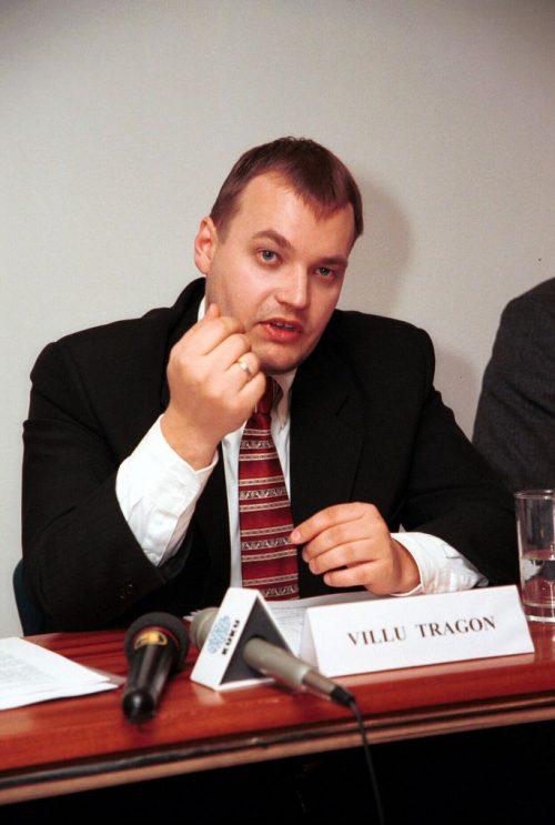 Villu Tragon (foto 2012), liquidatore Kuetzal